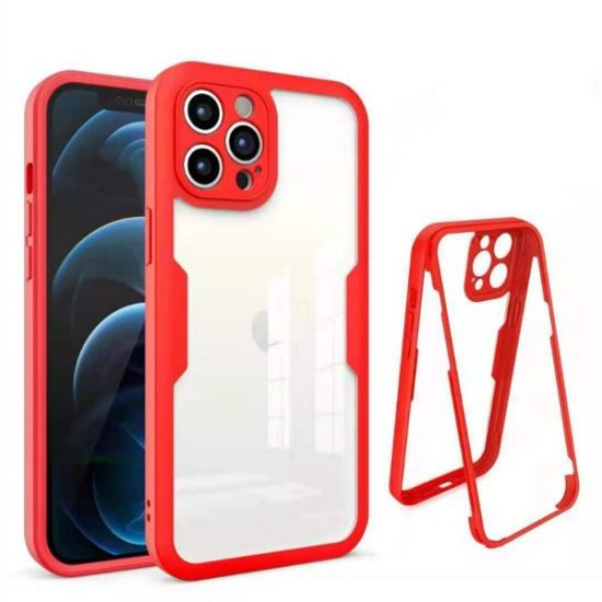 Red Ultra Thin Shockproof iPhone 13 Case