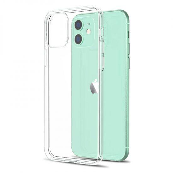 Ultra Slim Clear Silicone iPhone 13 Case