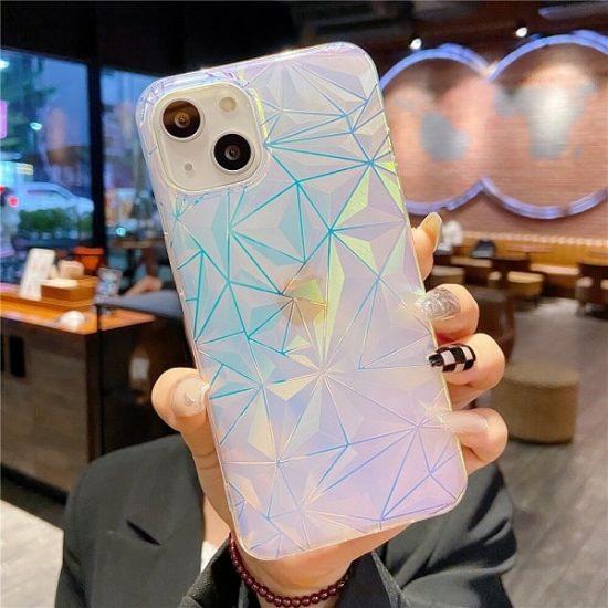 Rainbow Gradient Laser iPhone 13 Pro Case