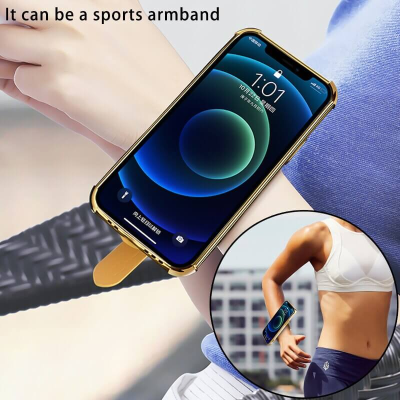 Phone Case with Hand Strap Holder