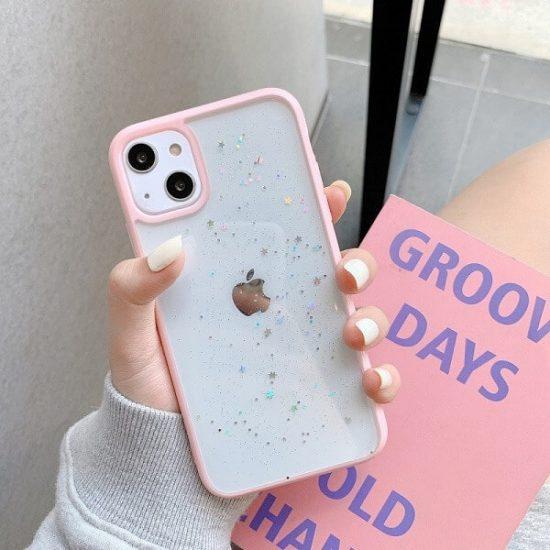 shockproof star glitter iPhone 13 case