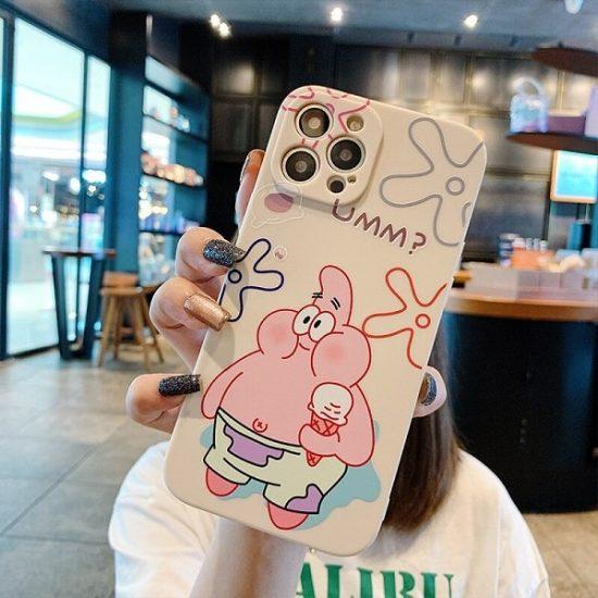 Cartoon Anime SpongeBob SquarePants Phone Case