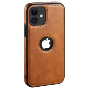 Luxury Ultra Thin Leather Phone Case - Brown