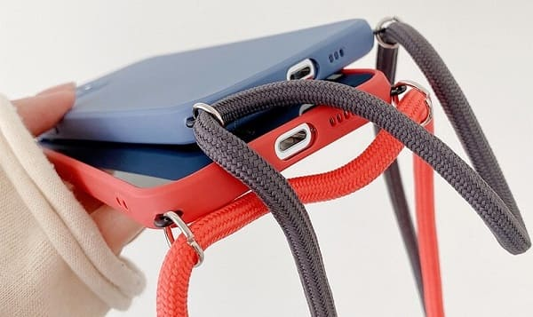 Necklace iPhone 13 Pro Max Case With Neck Cord